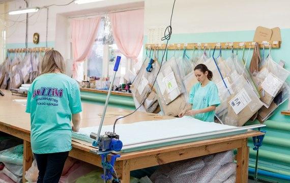 Фото из цеха швейного производства «PuZZiki» 8