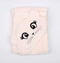 Уголок для купания с вышивкой (розовый)