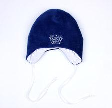 Шапочка на завязках (Синий)