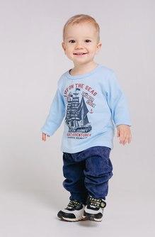Джемпер для мальчика (Голубой) 10-331 1