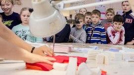 Экскурсия для школьников на швейное предприятие